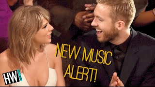Taylor Swift & Calvin Harris Writing New Music Together?!