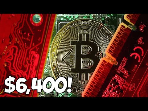 Bitcoin $6,400 – SHOULD YOU BUY BITCOIN RIGHT NOW????