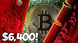 Bitcoin $6,400 - SHOULD YOU BUY BITCOIN RIGHT NOW????
