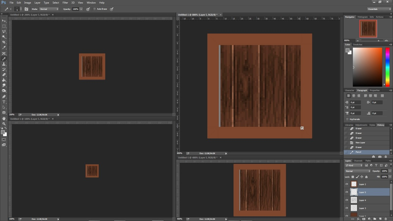 how to draw wood planks