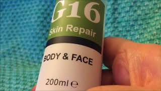 G16 Skin Repair. All Keratoses sufferers need to use this.