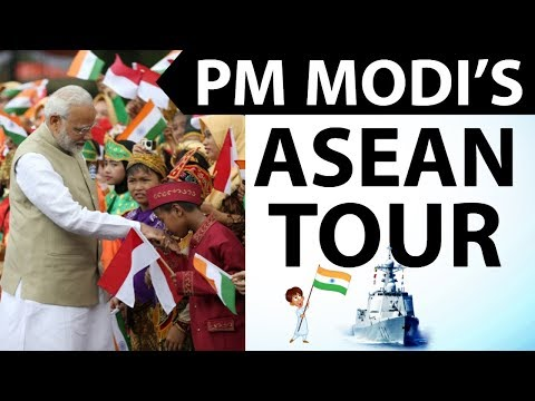 PM Modi ASEAN Tour - Sabang Port - Shangri La Dialogue - शांगरी ला डायलॉग - Current Affairs 2018