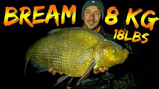 Fishing for GIANT BREAM *RECORD FISH* | Team Galant
