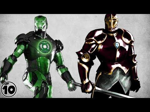 Top 10 Alternate Versions Of Iron Man