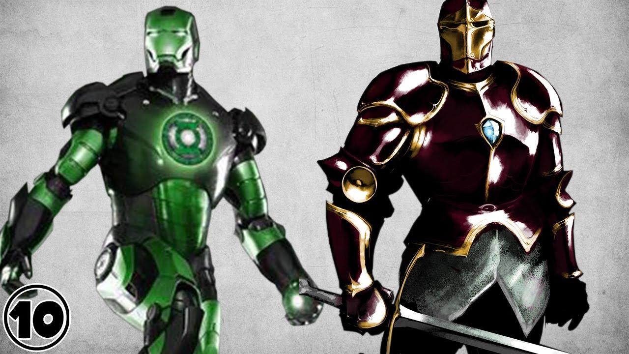 Top 10 Alternate Versions Of Iron Man YouTube