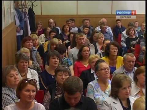Глава Карелии встретился с жителями Беломорска