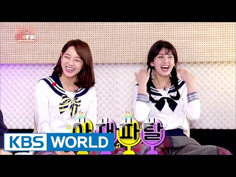 I.O.I Sejeong, 'Somi's got the nicest body to touch!' [Happy Together / 2017.03.30]
