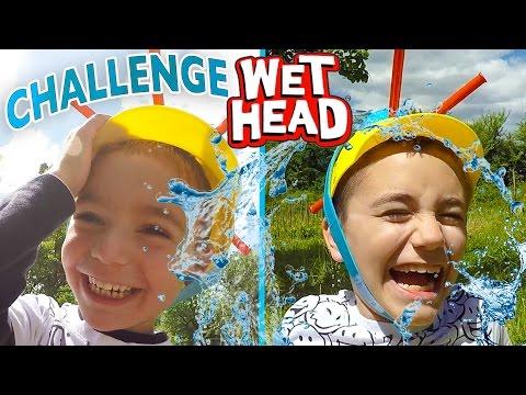 WET HEAD CHALLENGE   Douche glacée pour Swan et Néo !