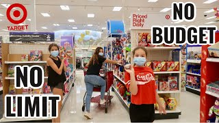 THE TARGET NO LIMIT , NO BUDGET SHOPPING CHALLENGE | SISTER FOREVER