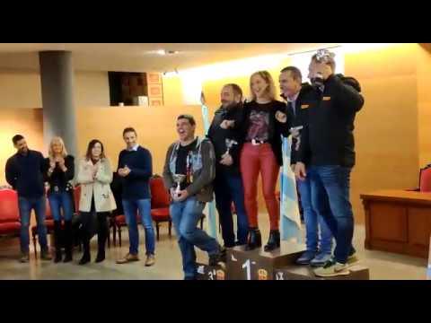 Entrega de premios del Rallye A Mariña