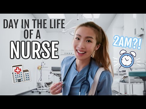 Day In The Life Of A Nurse | 16 Hour Shift
