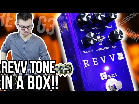 Distortion Pedals Aren't Really My Thing... But Holy 💩!! || Revv G3 Demo/Review