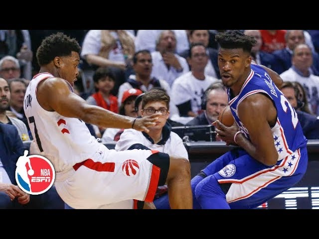 Jimmy Butler helps steal a win   76ers vs. Raptors Game 2   2019 NBA Playoff Highlights
