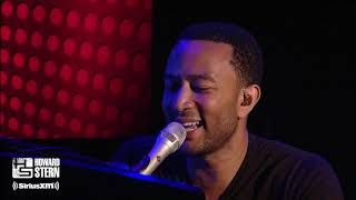 """John Legend """"All of Me"""" Live on the Howard Stern Show (2013)"""