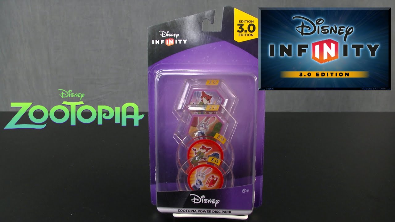 Download Disney Infinity 3.0 Zootopia Power Discs from Disney Interactive