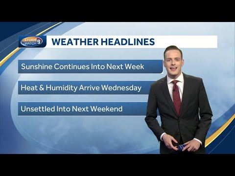 Watch: Heat and humidity return midweek - YouTube