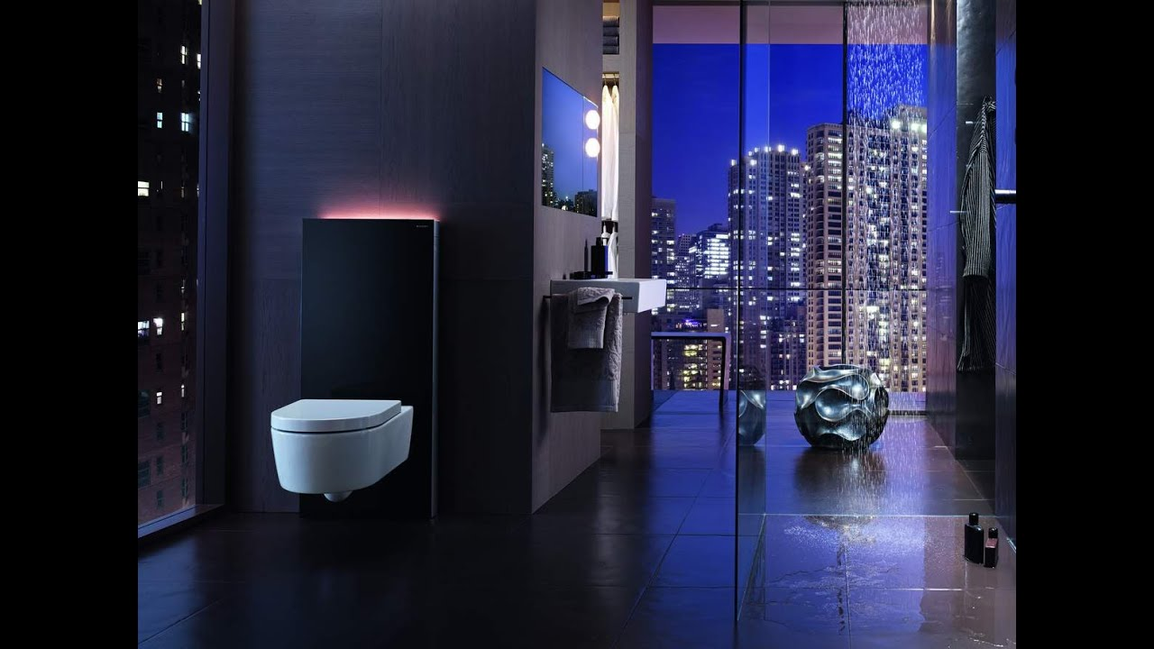 the geberit monolith plus lighting the way youtube. Black Bedroom Furniture Sets. Home Design Ideas