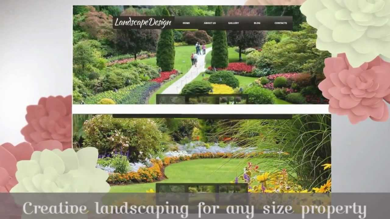 Landscape design video ad 60sec sample landscaping for Landscaping companies