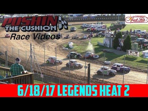 Angell Park Speedway - 6/18/17 - Legends - Heat 2
