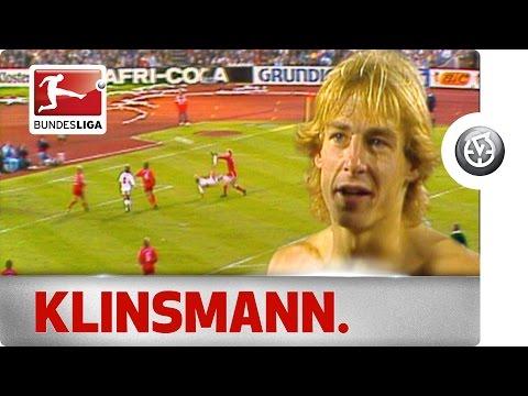 Jürgen Klinsmann's Wonder Goal Against Bayern München