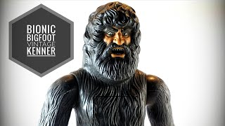 Bionic Bigfoot Kenner Review | Kenner 1977 Action Figure Toy