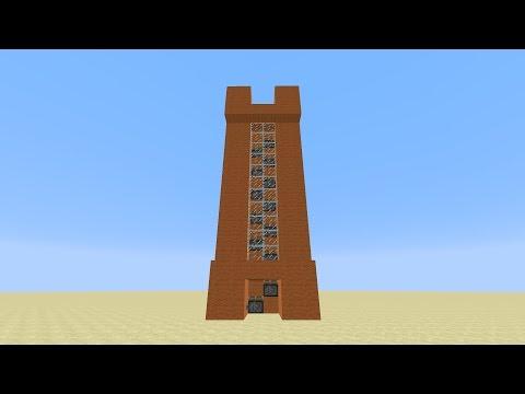 Minecraft - Super Fast Piston Elevator For 1.7/1.15 [Tutorial] (OLD VERSION)