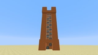 Minecraft - Super Fast Piston Elevator For 1.7/1.16  Tutorial   Old Version