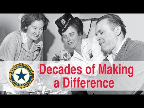 Decades Of Making A Difference   American Legion Auxiliary
