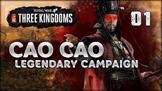 LEGENDARY CAO CAO  Total War Three Kingdoms  Part 1