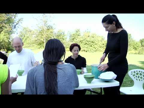 "Marina Abramović: ""Cleaning the House"" workshop"