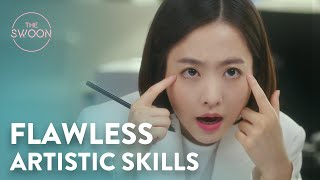 Park Bo-young shocks everyone with her artistic talent | Abyss Ep 13 [ENG SUB]