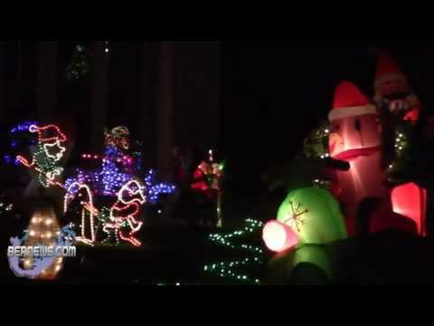 Bermuda Christmas At Night, Dec 23 2012