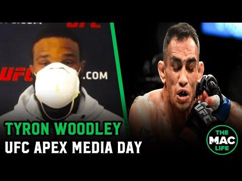 Tyron Woodley Tony Ferguson Is Too Tough For Himself Ufc Apex Virtual Media Day Youtube