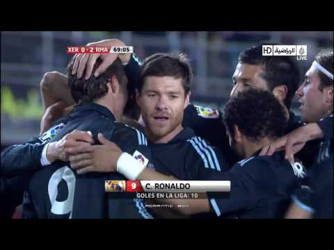 Goal Cristiano Ronaldo (Xerez 0 - 2 Real Madrid) HD 14.02.10