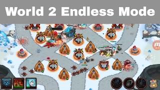 World 2 : Endless Mode   Low Level Heroes   World 2 Endless Mode Realm Defense / Legends TD