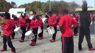 james seals mighty marching tigers drums prichard xmas parade