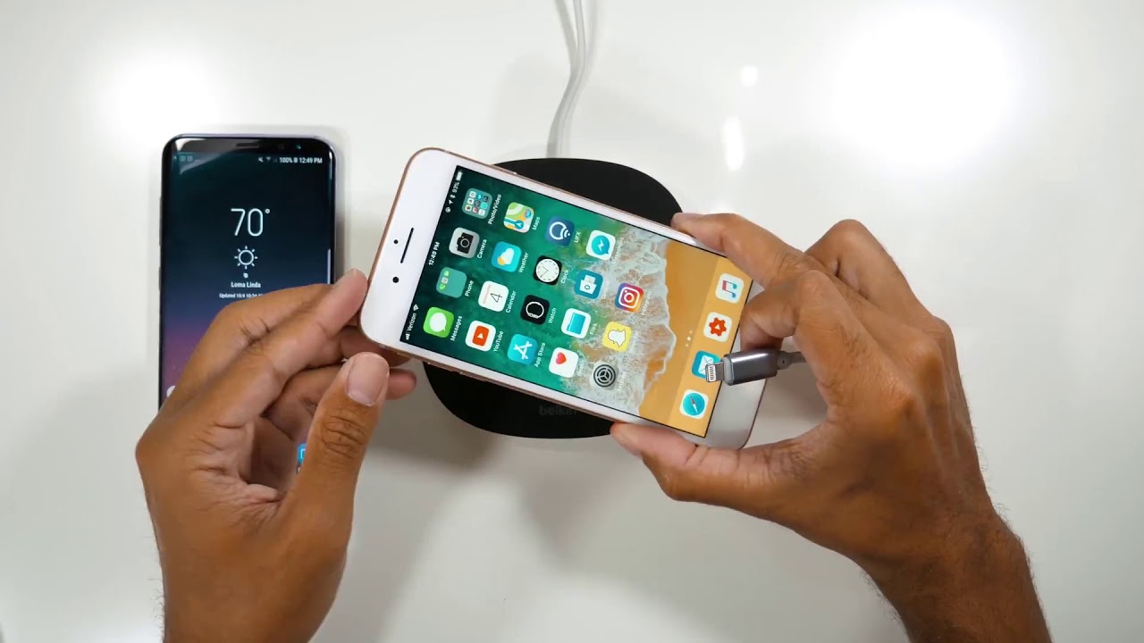 What happens if you charge an iPhone with Wireless and ...