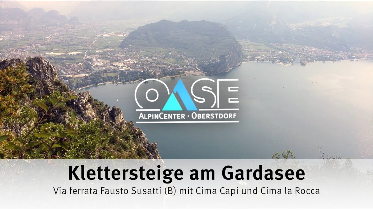 Klettersteig Cima Capi : Klettersteige am gardasee via ferrata fausto susatti b mit cima