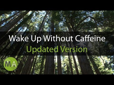 Wake Up Without Caffeine Binaural Beats Energy Booster - Forest Sounds (no bees)