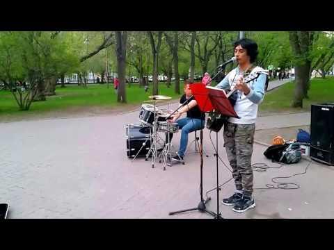 #музыкаулиц #Новосибирск Владимир Ким