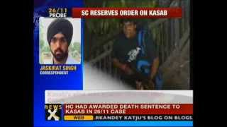 26/11 Mumbai attacks: SC reserves verdict on Kasab - NewsX