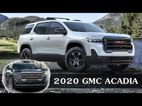 2020 GMC Acadia Adds AT4 Trim, Turbo Engine >> 2020 Gmc Acadia Denali At4