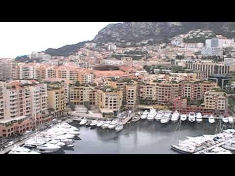 Monaco garden view