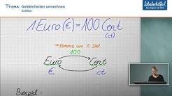 Geld // Größen // Mathematik // Schülerhilfe Lernvideo