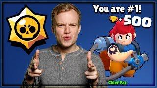 500 TROPHY PAM! Best Tips/Tricks | Brawl Stars Gameplay