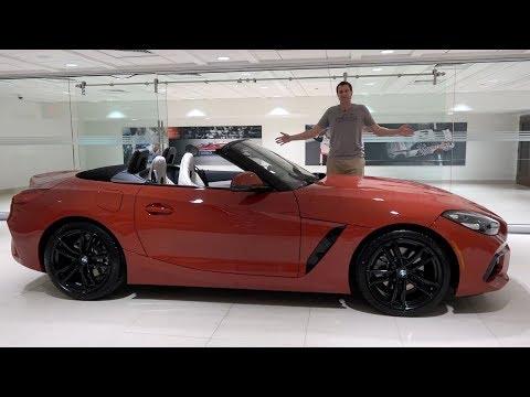 BMW Z4 2019 года - это прикольный люксовый родстер