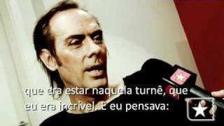 """Peter Murphy apresenta """"Burning from the inside"""" em São Paulo - Radar Showlivre"""