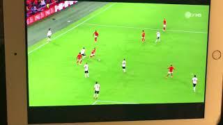Nederland-Duitsland 3-0- 3-0. 13-10-2018