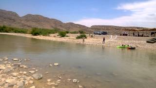 Boquillas - Big Bend July 4th