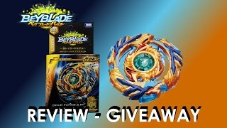 Beyblade Burst  ベイブレードバースト B-79 Starter Drain Fafnir 8 Nt Review Giveaway Exp May 28th